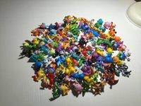 Wholesale 144pcs Poke Figures Toys cm Pikachu Charizard Eevee Bulbasaur Suicune PVC Mini Model Toys For Children