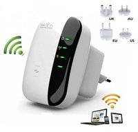 Wholesale 300Mbps Wifi Repeater Wireless N AP Range Signal Extender Booster