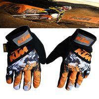 Gants de moto KTM BMX ATV VTT MX Gants de protection chauds hors route Scooter Dirt Bike Bicycle Cycling Motocross Gloves