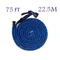Timers & Controllers Plastic Rubber Watering Irrigation Watering Kits 75 feet (22.5 m) Irrigation water Flexible Garden Water Hose + Spray Gun Magic Hose Water Pipe