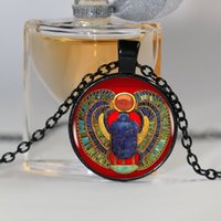 ancient egyptian animals - 2016 Fashion Egyptian Scarab Necklace ancient egypt jewelry Egypt necklace Egyptian jewelry For Women colors for choosing