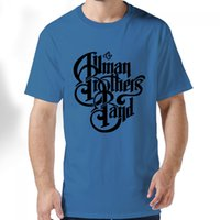 allman brothers - For Men and women Allman Brothers Band Adult Standard Weight T shirt Cotton
