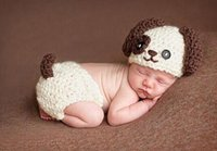 baby puppy costumes - Hand woven baby puppy piece suit photographed costumes