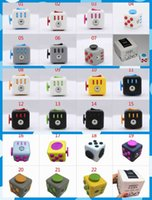Wholesale New color Fidget cube the world s first American original decompression anxiety Toys In stock