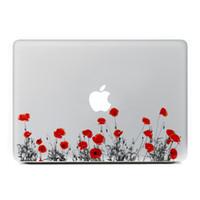 beautiful laptop skins - Beautiful Flower Vinyl Decal Laptop Stickers for Apple Macbook Air Pro Retina Inch Laptop Skins