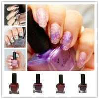 Wholesale New arrival Bottle ml Stamping Nail Polish Candy Colors Nail Art Varnish Nail Plate Printing Polish