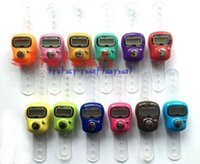 Wholesale by dhl or ems Top Quality Stitch Marker And Row Finger Counter LCD Electronic Digital Tally Counter Stock Offer