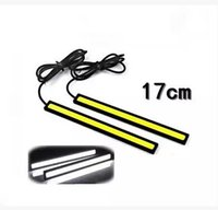 Wholesale Universal COB line lamp Super car day line light led daytime running lights The new ultra thin waterproof day line lamp box packing