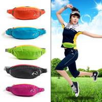 Wholesale Good quality Unisex Running Bum Bag Travel Handy Hiking Sport Waist Belt Zip Fanny Pack Running Bag