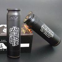 av star - AV ABLE Star Wars MOD AV Style Mod Brass Material Clone Electronic Cigarette Mechanical Mod Fit battery Star Wars DHL Free