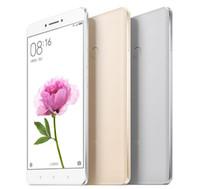 оптовых xiaomi phone-Xiaomi Mi MAX Мобильный телефон Snapdragon 650 Hexa Core 3 ГБ ОЗУ 32 ГБ / 64 ГБ / 128 ГБ ROM 6.44 «4850mAh Google Play MIUI Идентификатор отпечатка пальца