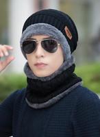 Yarn Dyed beard patterns - Popular beard hat handmade knitting pattern Promotion gift crocheted knitted winter hat for sale