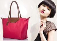 american coffee shop - shopping bag Collection handbag fold waterproof Nylon women bag lady original France IT wallet leather Paris purse US EUR tote shoulder