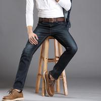 basic style jeans - New Desiger Basic Styles Mens Jeans Classic Black Denim Mens Pantsbiker jeans Casual Fashion Slim Fit Jeans