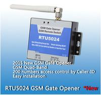 Wholesale users RTU5024 GSM Garage Swing sliding Gate door Opener Relay Switch Remote Access Control Door Opener server controller