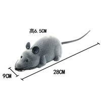 Wholesale The new remote control toy mini remote control mouse two remote control mouse two remote control rotating flocking mouse