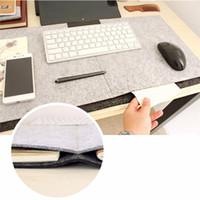 Felt   34x64cm Durable Computer Desk Mat Modern Table Felt Office Desk Mat Mouse Pad Pen Holder Wool Felt Laptop Cushion Desk Mat Mouse pad