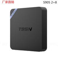 Wholesale Amlogic S905x T95N Mini MX Android TV BOX Kodi Android K VS MXQ S805 S905 M8S T95 TV BOX