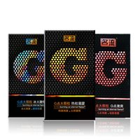 Wholesale Fama G High Quality Bumped spike ribbed condoms Men Safe sex protection products Factory Direct Selling