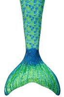 Wholesale Girls sexy Mermaid Tail Swimming Costume mermaid Swimwear size