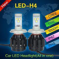 auto beam - Hot sale electric car x4 accessories H4 led headlight Hi low beam LED auto car light