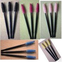 adjusting handle - Portable Eyelash brush handle length can be adjusted The Mascara brush can adjust camber kinds of color optional