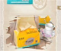 Wholesale 2016 new Bamboo fiber Facial Tissue Table Dispenser Decoration Tissue Boxes pure Color Tissue Case Facial Tissue No bleach napkin