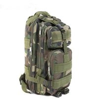 Wholesale 50pcs Hot Sale Men Women Unisex Outdoor Military Tactical Backpack Camping Hiking Bag Trekking Rucksacks Free DHL Fedex