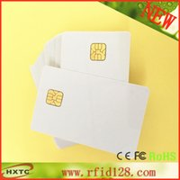blank cards - ISO Contact AT24C64 Chip Smart IC Blank PVC Card with K Memory For Access control system