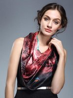 Wholesale chinese silk scarf hangzhou silk shawl mulberry silk scarves in the spring and autumn