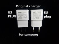 Wholesale Samsung N7100 original charger V2A US EU Plug Charger For Samsung Galaxy S3 S4 NOTE2 S6 S7 Edge