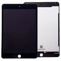 Wholesale AA New LCD Lens Screen Touch Digitizer Assembly W Frame For ipad mini4 A1538 A1550 display white black