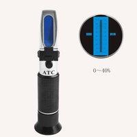 Wholesale Handheld refractometers urea concentration of solution detector vehicle diesel engine exhaust measurement