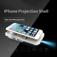Wholesale Mini Projector DLP Wifi Portable Handheld Smartphone Projector Bluetooth Pico HD Video Projector P HDMI For Ipad IPhone