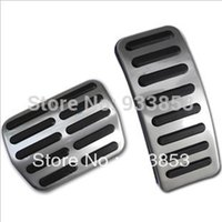 Wholesale Stainless Car AT pedal Cover for VW Polo Bora Lavida Fabia Clutch Accelerator Brake Gas pedal