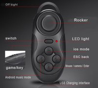 No arcade gamepad - 2017 New Upgrade Wireless Gamepad Bluetooth Game Controller Gaming Joystick for Android iOS Smart Phone remote controller for VR