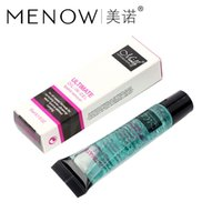 Wholesale 30PCS M n Menow Makeup remover oil ml lipstick remover oil even ultralong wear lipstick without rubbing cosmetic DHL R15001