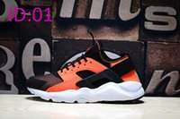 Wholesale 2017 Mens Sports Air Huarache Run Ultra PK4 Kpu Running shoes Fashion Athletic Walking Training Sporting Shoes Sneakers size