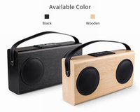 Wholesale 2016 Newest product from AVWOO Professional manufacturer Bluetooth Wooden Stereo Speaker with FM Radio function for iphone s ipad