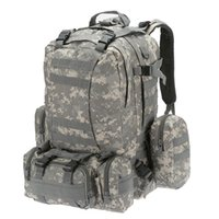 Backpacks basketball combine - 2017 new sports outdoor climbing hiking bag multifunctional combined tactical army fan pack L camouflage Backpack