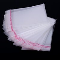 best plastic adhesive - hot sale Clear Self Adhesive Seal Plastic Package Bags OPP bags best quality x20cm pc
