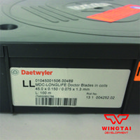 Wholesale W45mm T0 mm L100m Superhard coating corrosion resistance MDC long life scraper ceramic scraping blade