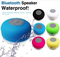 2 Universal Waterproof 2015 Portable Waterproof Wireless Bluetooth Speaker Shower Car Handsfree Receive Call mini Suction IPX4 speakers box player Mic Promotion