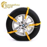 Wholesale TPU Security Anti Scratch Easy Installation Universal Car Snow Chains In Small Size For Car Tire mm