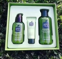 Wholesale Three sets of new Green Tea moisturizing refreshing summer essential moisturizing skin suitable for any skin