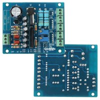 audio input driver - Freeshipping AC V Stereo VU Meter Driver Board Amplifier DB Audio Level Input Backlit