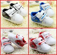 Wholesale New BB toddler shoes cheap children cartoon shoes CM CM CM baby fashion soft PU shoes pair
