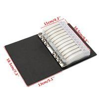 Wholesale PC Black SMD Resistor Values value Sample Book Assortment Kit Resistors Sample Hot Sale Lowest Price