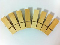 Wholesale New Arrival High Quality Vintage Large Wooden Clothespins Fix Clothes Papers or Packeging bags Very Well