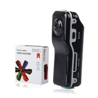 Wholesale New MD80 Mini DV Camcorder DVR Video Camera Webcam Support GB HD Cam Sports Helmet Bike Motorbike Camera Video Audio Recorder